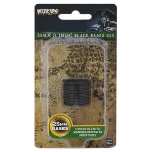 Deep Cuts 25Mm Round Base Black