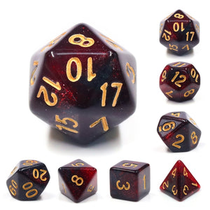 Dice Set 7 Aurora Bloody Mary
