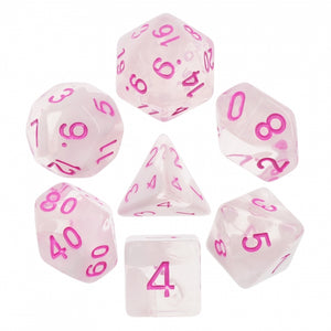 Dice Set 7 Cloudy Passion