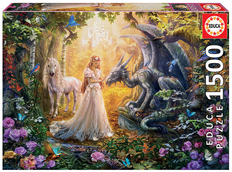 Dragon, Princess, & Unicorn 1500 Piece
