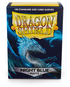 Dragon Shield Sleeves 100 Pack Night Blue Matte