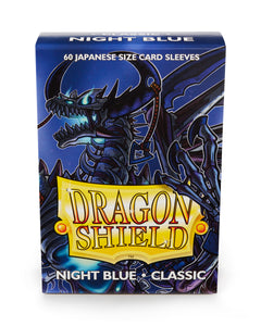 Dragon Shield Sleeves 60 Pack Night Blue Classic Japanese Size