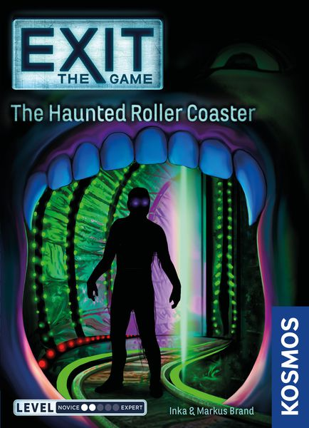 Exit Haunted Roller Coaster