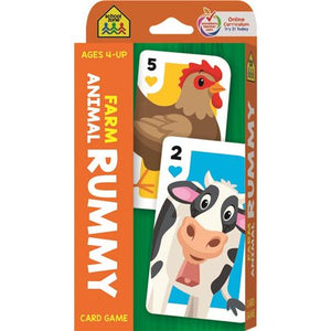 Flashcards Rummy Animal Farm