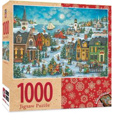 Harbor Side Carolers 1000 Piece