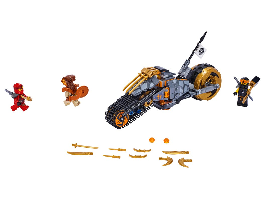 Lego Ninjago Cole's Dirt Bike