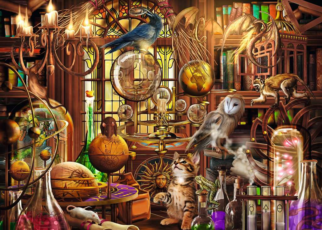 Merlin's Laboratory 1000 Piece