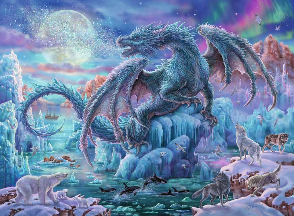 Mystical Dragons 500 Piece