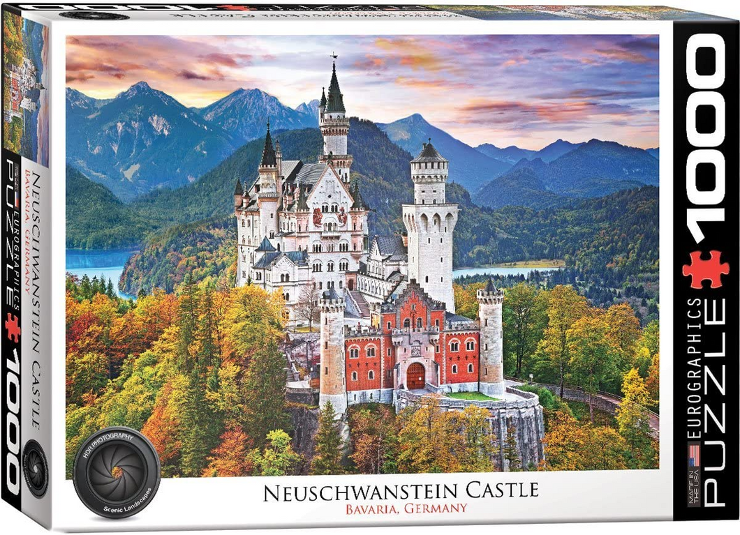 Neuschwanstein Castle 1000 Piece