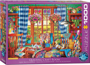 Patchwork Craft Room 1000 Piece