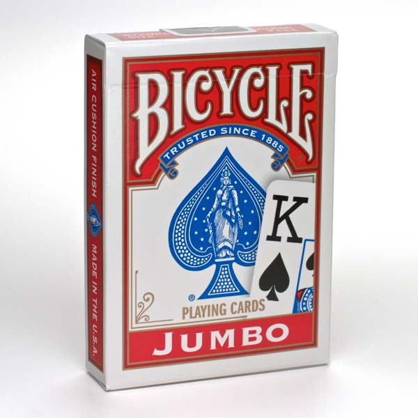 Playing Cards Bicycle Jumbo Poker