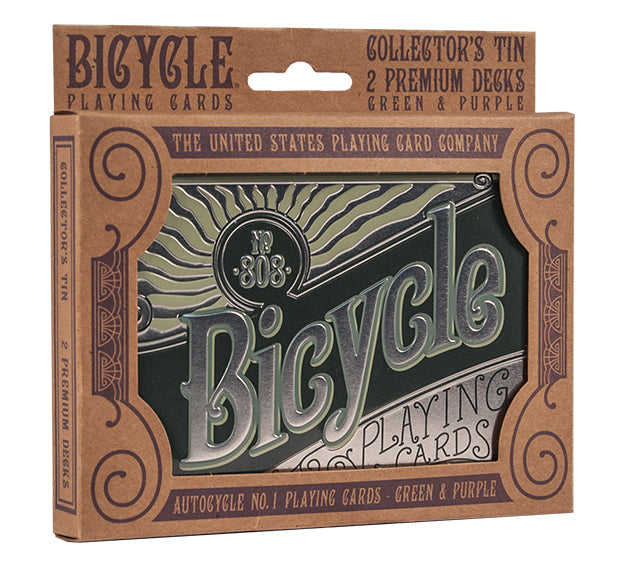 Playing Cards Bicycle Retro Double Tin