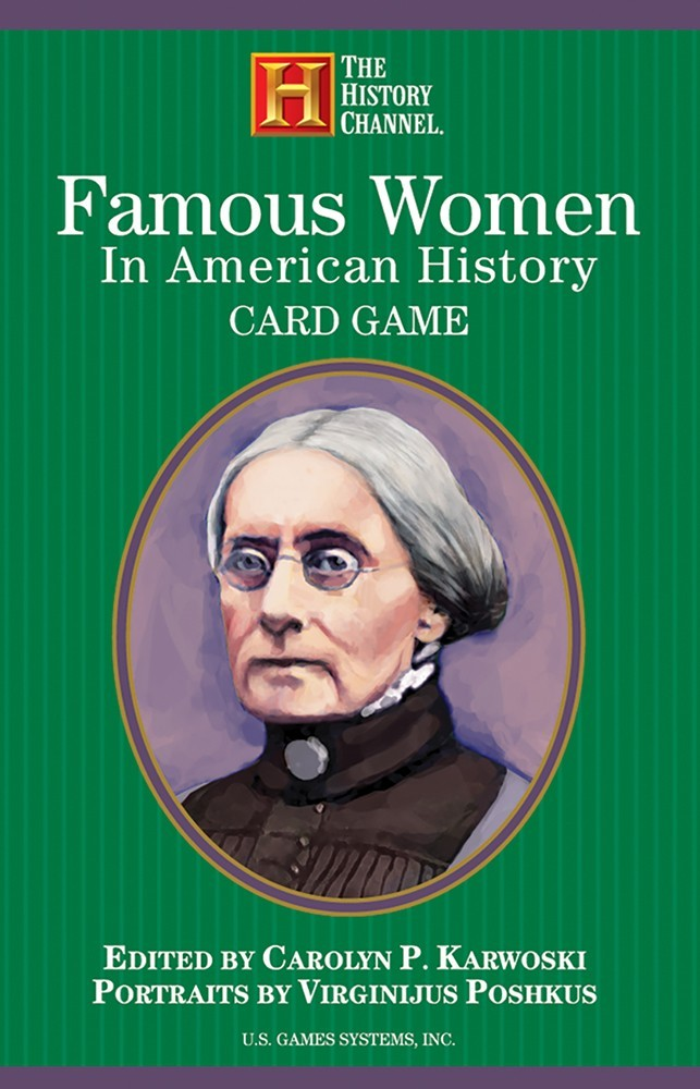 Playing Cards Famous Women
