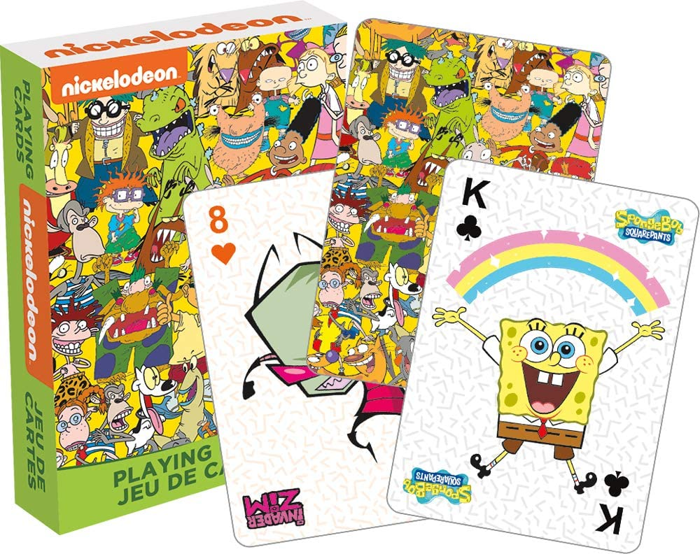 Playing Cards Nickelodeon Cast