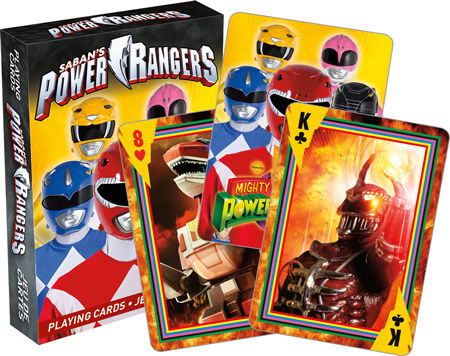 Playing Cards Power Rangers