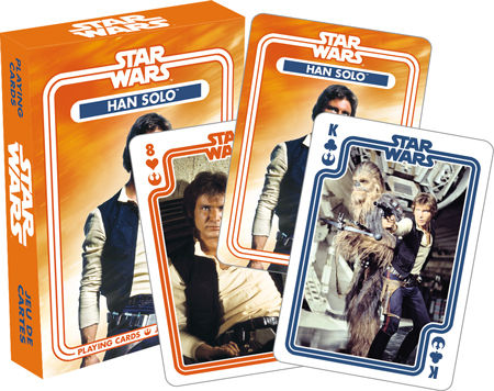 Playing Cards Star Wars Han Solo