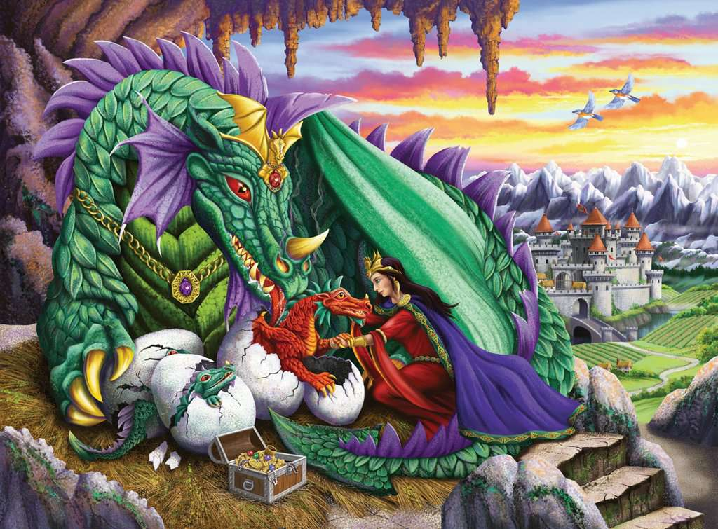 Queen Of Dragons 200 Piece