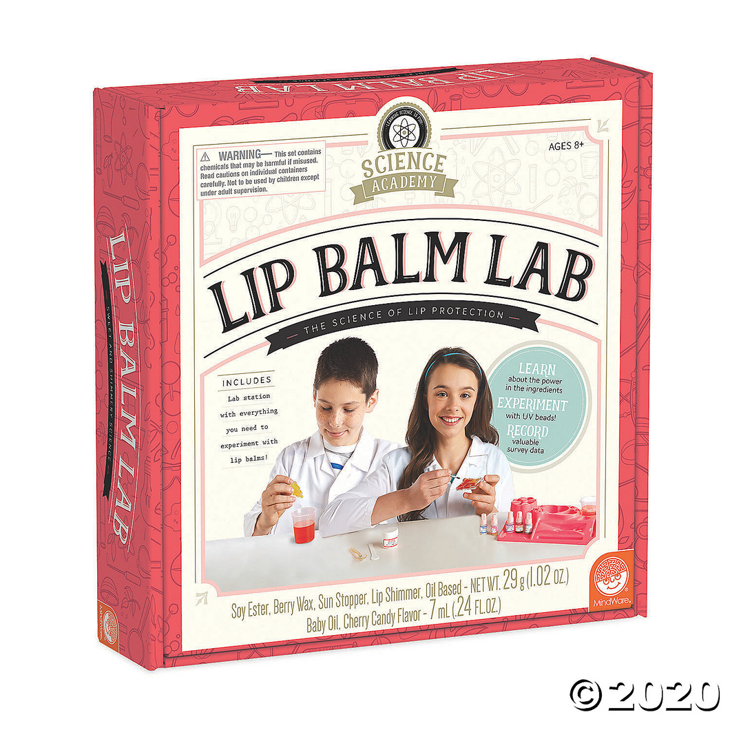 Science Academy Lip Balm Lab