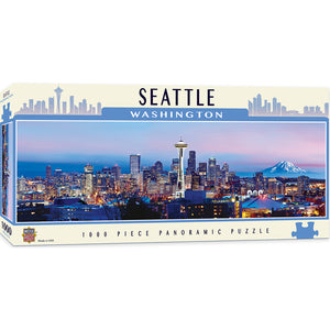 Seattle Panoramic 1000 Piece