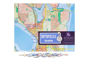 Seattle Street Map 1000 Piece
