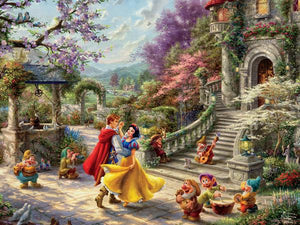 Snow White Dancing 750 Piece