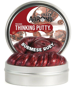 Thinking Putty Burmese Ruby 4'' Metallic