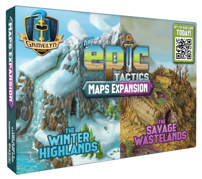 Tiny Epic Tactics Map Expansion