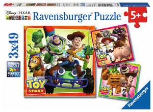 Toy Story History (3 Pack) 49 Piece