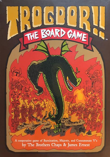 Trodgor!! The Board Game