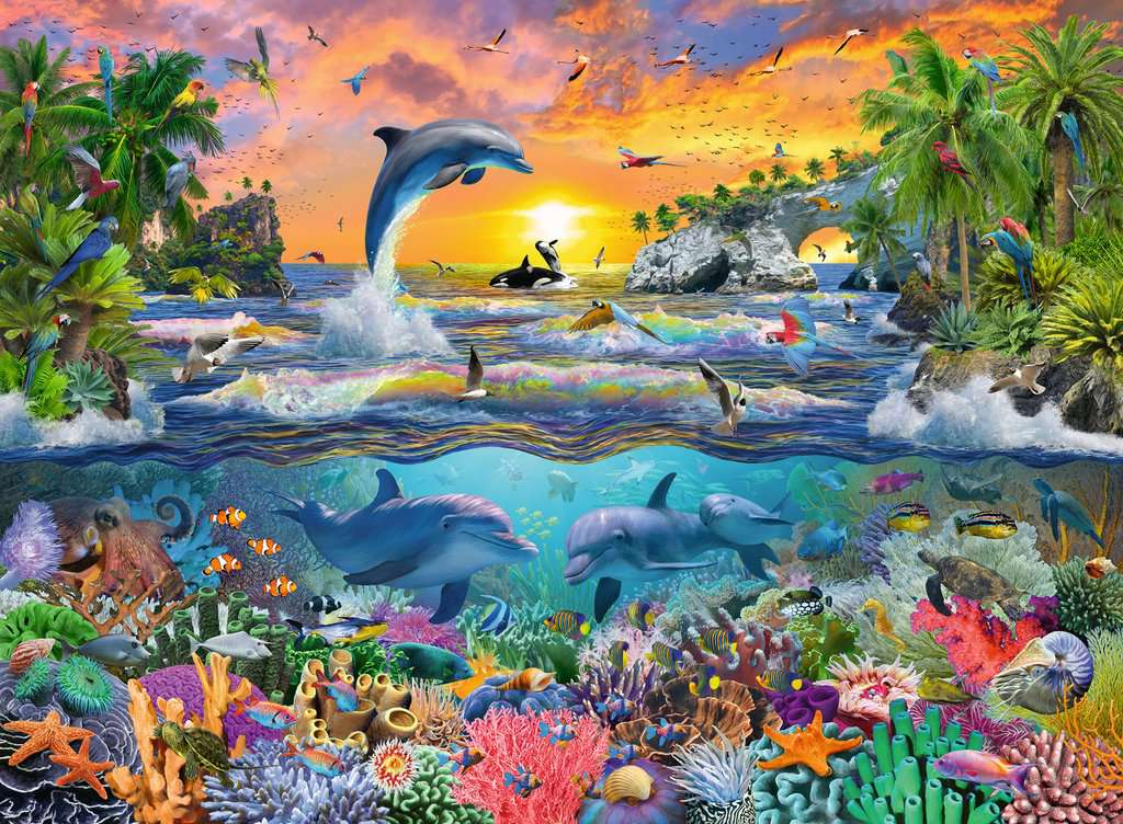 Tropical Paradise 100 Piece