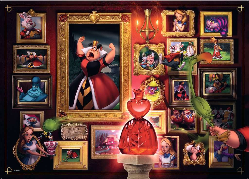 Villainous Queen Of Hearts 1000 Piece