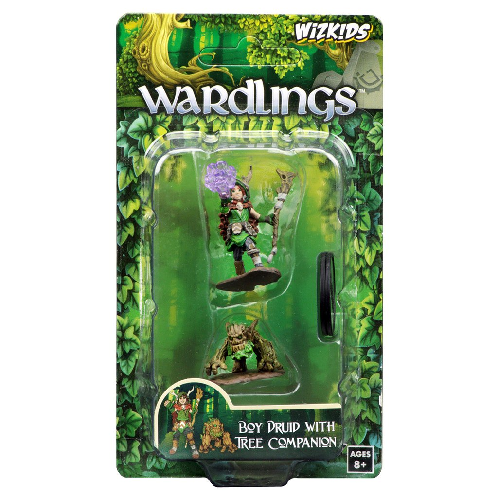Wardling Boy Druid & Tree Creature