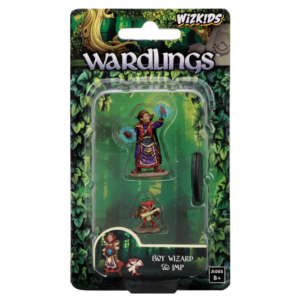 Wardling Boy Wizard & Imp