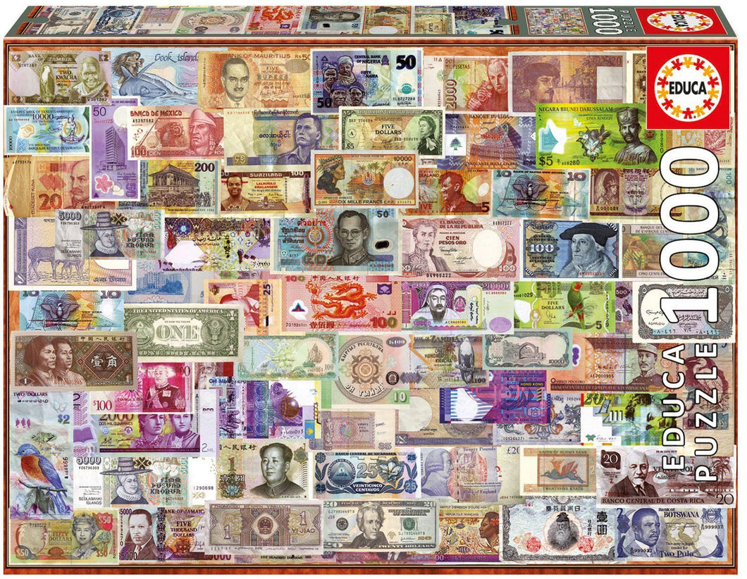 World Banknotes 1000 Piece
