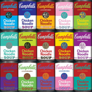 World's Most Difficult Campbells Souper 500 Piece