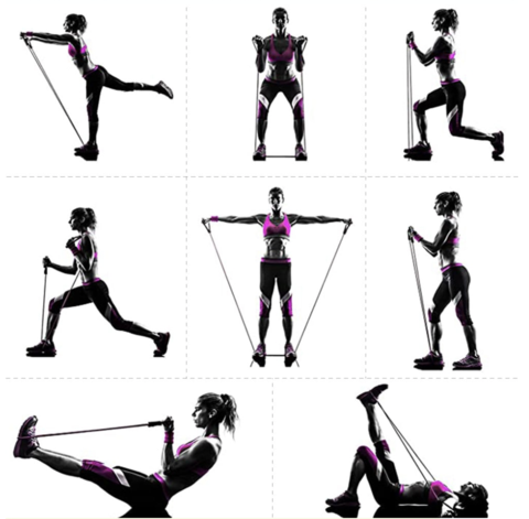 muscle grab workout resistance bands