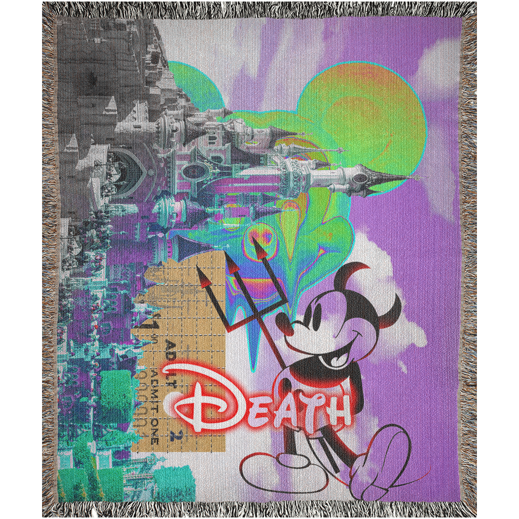 Trip to Disneyland Blanket