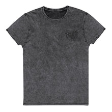 Load image into Gallery viewer, Katharsis Embroidered Denim T-Shirt