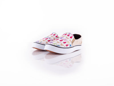 Tenis Bordados -Slip On Tacuates (Colores) - nDavaa