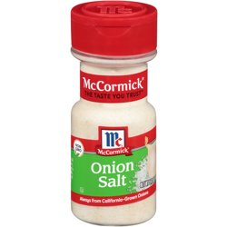 McCormick Onion Salt, 5.12 oz Bottle