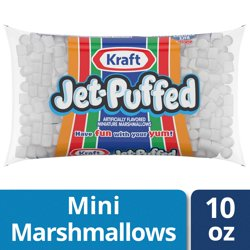 Jet-Puffed Miniature Marshmallows, 10 oz Bag