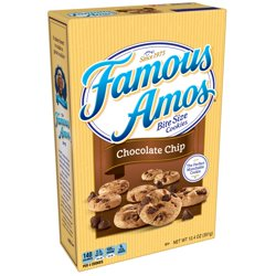 Famous Amos Chocolate Chip Cookies Bite Size 12.4 oz