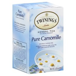 Twinings of London Pure Camomile Herbal Tea, 20 count, 1.06 oz