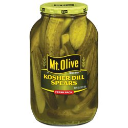 Mt. Olive Kosher Dill Spears Pickles 64 fl. oz. Jar