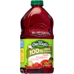 Old Orchard 100% Apple Cranberry Juice, 64 Fl. Oz.