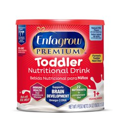 Enfagrow Premium Toddler Nutritional Drink, Natural Milk Flavor - Powder Can 24 oz
