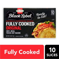 Hormel Black Label Fully Cooked Bacon, 2.5 Oz.