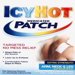 Icy Hot Extra Strength Arm Neck and Leg Medicated Patch 5ct