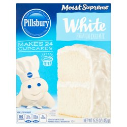 Pillsbury Moist Supreme White Premium Cake Mix, 15.25 oz
