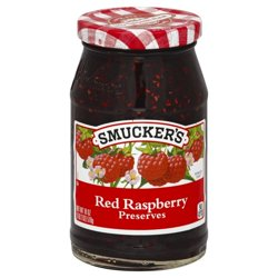 Smucker's Red Raspberry Preserves, 18-Ounce